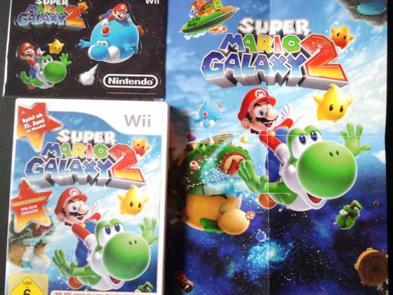 Super Mario Galaxy 2 (Wii) Vorbesteller-Bonus
