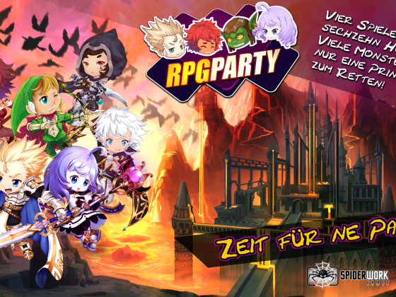 RPG PARTY Promotion Wallpaper