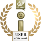 User of the month