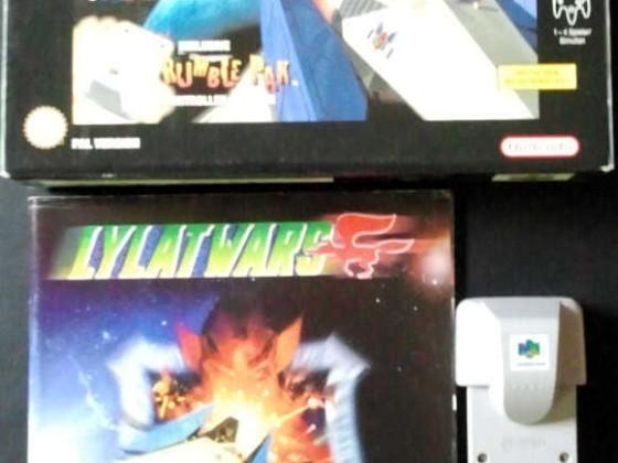 Lylat Wars Rumble Pak Big Box