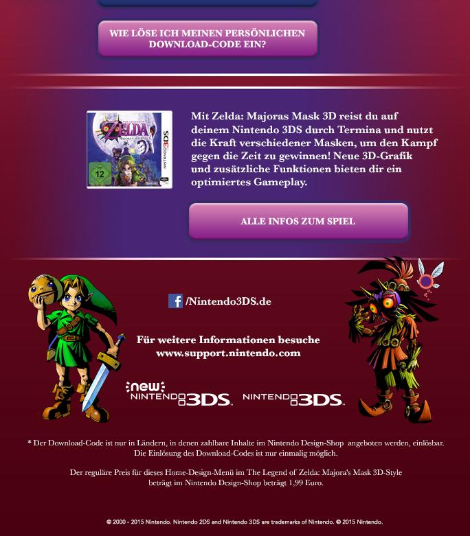 Zelda: Majora's Mask-Home-Menü-Design Ab Heute Kostenlos